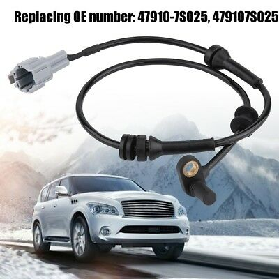 47910-7S025 1x ABS Wheel Speed Brake Sensor for Infiniti QX56 Base 2004-2007 CL