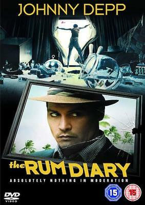 The Rum Diary (DVD, 2012) Johnny Depp - Brand New & Sealed Condition