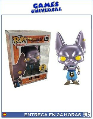 Funko Pop Dragon Ball Beerus Comic Con 2016 Exclusive