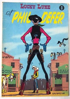 LUCKY LUKE - 08 - PHIL DEFER - Goscinny et Morris - 1979