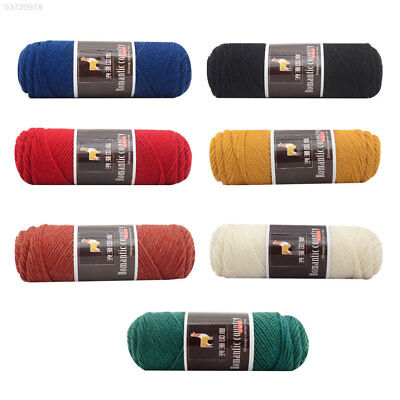 7C36 100g Worsted Knitting Yarn Soft Alpaca Wool Handcraft Crochet Thread