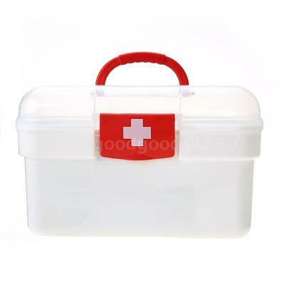 129PCS All Purpose First Aid Kits Box for Home Car Outdoor Family Emergency U6J9