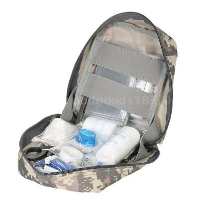Carevas 47PCS Water-Proof Outdoor First Aid Kits for Camping Hiking Home Q3T1