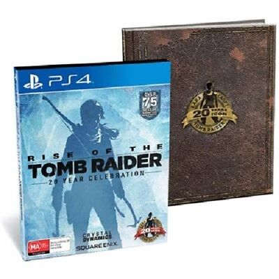 Rise of the Tomb Raider 20 Year Celebration Artbook Edition PlayStation 4