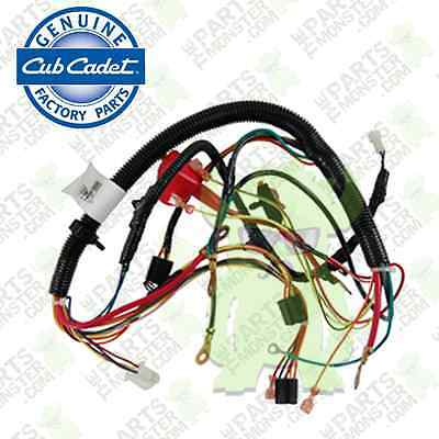 Main Wire Harness Mtd on handlebar harness, main spring, main switch, main fuse, main frame, main relay, ignition coil harness, main seal, main door, main circuit breaker,