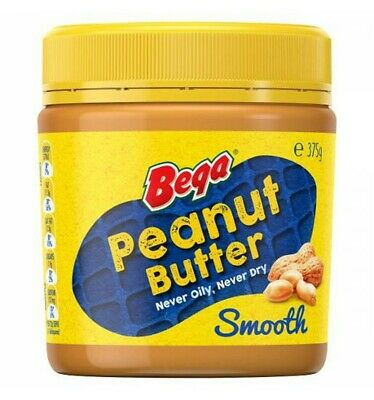 Bega Peanut Butter Smooth 375gm
