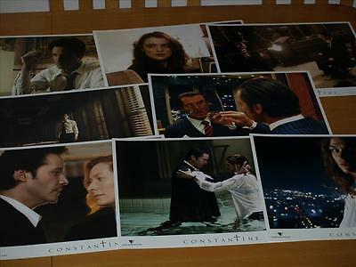 CONSTANTINE  Lobby cards lot FULL Set of 8 Movie cinema LC Keanu Reeves