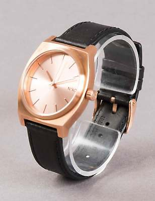Nixon Time Teller Watch - All Rose Gold/Black