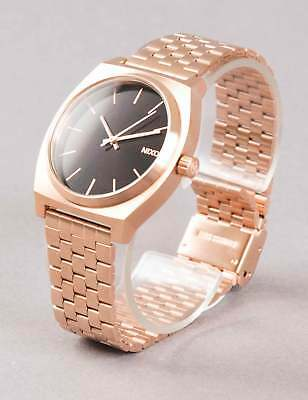 Nixon Time Teller Watch - All Rose Gold/Black Sunray