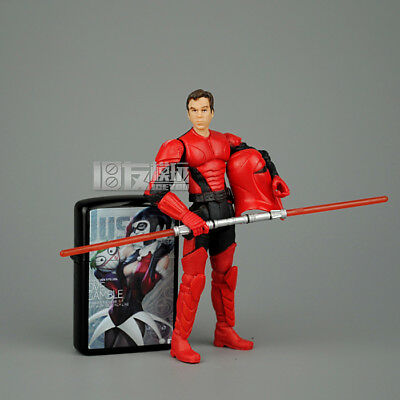 "New 3.75"" Star Wars Series  the Empire Red Guard Action  Figure Toy #002"