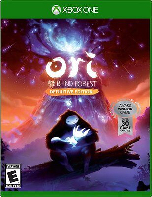 Ori e The Blind Forest: Definitive Edition Microsoft Xbox One Physical Disco