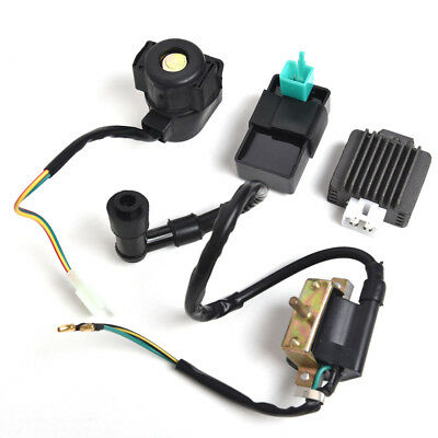 Ignition Coil CDI Regulator Rectifier Relay For 50/70/90/110cc Chinese ATV Quad