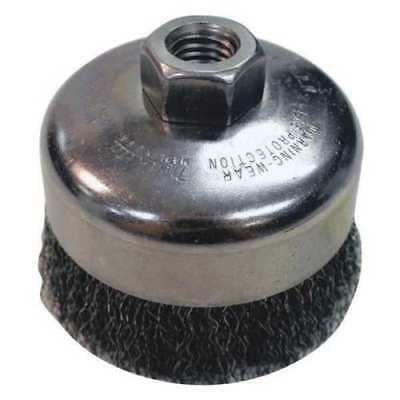 """MAKITA D-55239 2-1//2/"""" X 5//8/""""-11UNC KNOT WIRE CUP BRUSH"""
