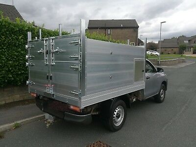 high sided arborist tipper tree surgeon hilux/l200 - BODY ONLY