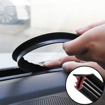 Rubber 1.6m Dustproof Soundproof Sealing Strip for Auto Car Dashboard Windshield
