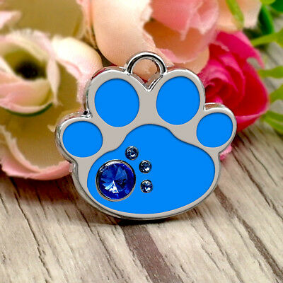 PetArtist® Custom Engraved Dog ID Tag Personalized Bone Paw Tags Pet Puppy Cat