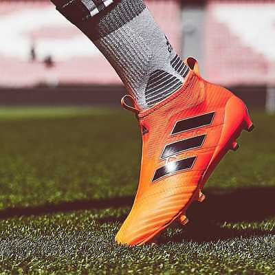 premium selection 69dd1 0a6dd ADIDAS ACE 17+ Purecontrol FG Orange Pyro Football Boots Soccer Cleats ALL  SIZES - EUR 124,05  PicClick IT