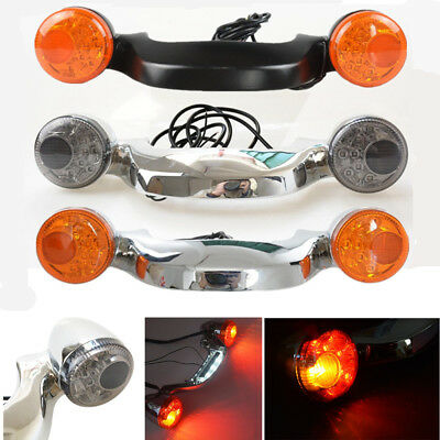Rear LED Brake Turn Signal Light Bar For Harley Touring Street Road Glide 10-17