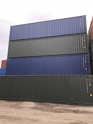 40ft HC HIGH CUBE SHIPPING CONTAINER NEW IN LEEDS