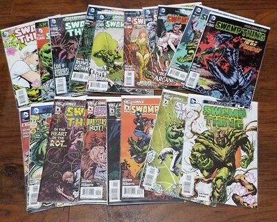 SWAMP THING Scott Snyder Issues #0, #2- 18, DC Comics The New 52