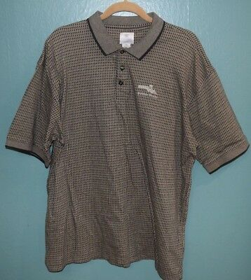 Mens Pebble Beach 2xl Polo Shirt Golf Links L Course Logo
