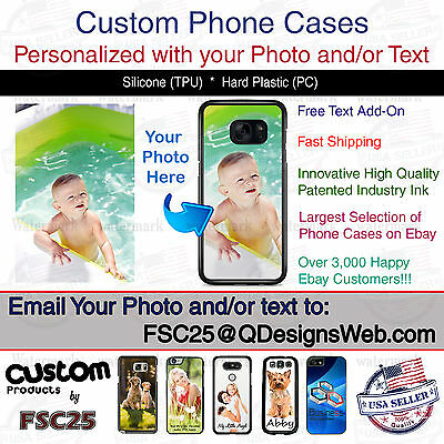 Custom Personalized Photo Selfie Collage Phone Case for Samsung Galaxy J7 V 2018