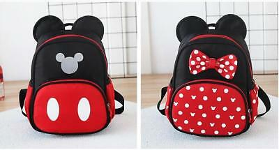b716dd9ebb94 New Kids bag Kindergarten Children Cartoon Mickey School Bags Minnie  Backpack
