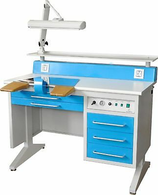 Dental Workstation Bench EM-LT5 Laboratory with Dust Collector