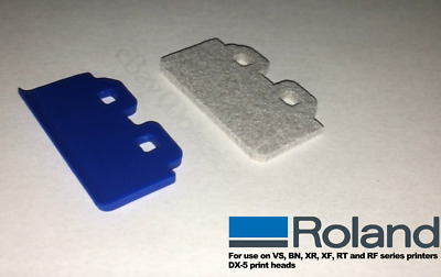 OEM Roland DX-5 Felt Wiper BN-20 VS VSi series RT-640 RE-640 RF-640 EJ Solvent
