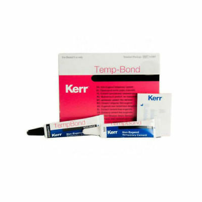 Temp-Bond Temporary Dental Cement Plastic Tubes Kerr (Regular or NE)