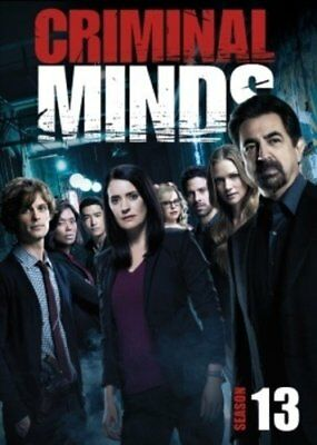 Criminal Minds: Season 13 The Thirteenth (DVD,2018,6-Disc Set) New Complete 13th