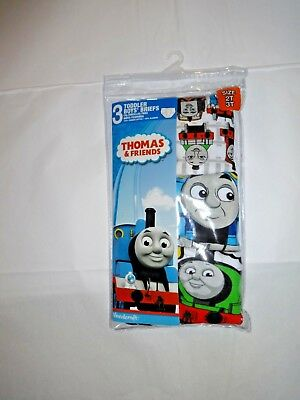 Thomas The Train Boys Briefs Underwear 3 Pack Size 2T/3T