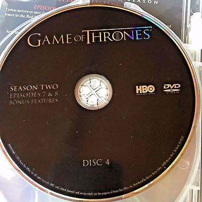 Game Of Thrones Saison 2 Disques 4 Remplacement Disque DVD