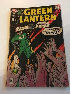 DC Comics GREEN LANTERN Issue 71 The City That Died!