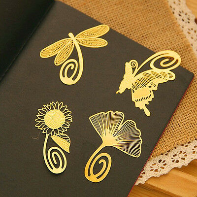 Note Metal Animal Bookmark Novelty Ducument Book Marker Label Stationery KQ