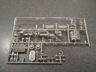Vintage Lot Of Mpc/amt/revell Chrome Engine And Parts