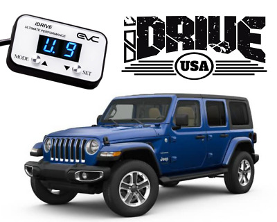 iDRIVE USA Performance Throttle Controller to suit Jeep JL Wrangler 2018-2019