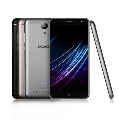 DOOGEE 6 Inches Large Screen  Quad Core Smartphone X7 For Android Dual SIM FC