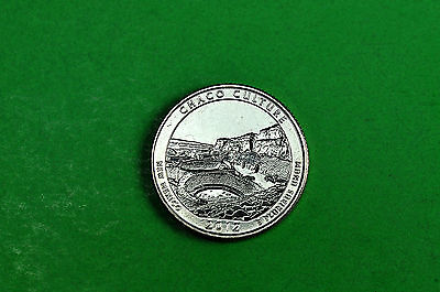 2012-D  BU Mint State (CHACO CULTURE)  US National Park Quarter