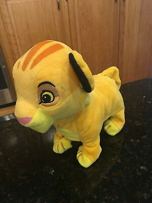 Disney BABY Walking Plush Electronic Simba Lion King Roaring Walking