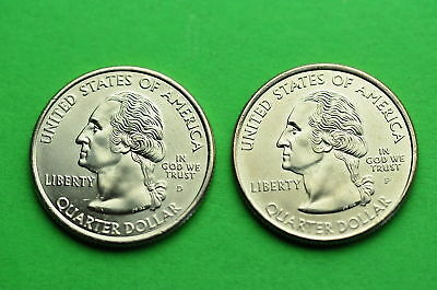 2010-P&D  BU Mint State (YOSEMITE) US National Park Quarters  (2 Coins)