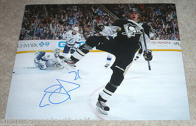 Pittsburgh Penguins Evgeni Malkin Signed 11X14 Photo W/coa Conn Smythe Russia