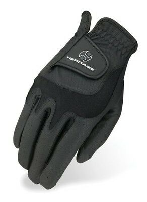 (12, Black) - Heritage Elite Show Glove. Heritage Products. Shipping Included