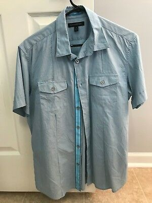Banana Republic Short Sleeve Button Down Shirt Mens M