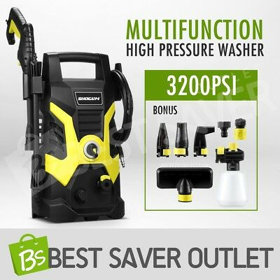 3200PSI 7.2LPM Electric High Pressure Washer Water Pump Hose Cleaning