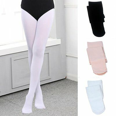 Girls Kids Gymnastics Ballet Dance Leotard Tights Pantyhose Long Stockings Socks