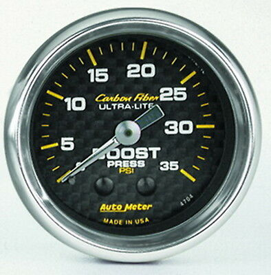 AutoMeter 4704 Carbon Fiber (TM) Gauge Boost