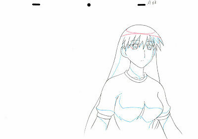 SALE! Anime Douga Not Cel: Azumanga Daioh #202 (Set of 1 Production Sketch)