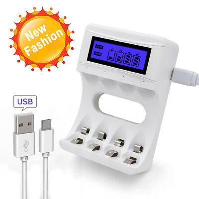 1Pcs USB Battery Charger for AA and AAA Battery 2Ports Battery Charger Nice/_DM
