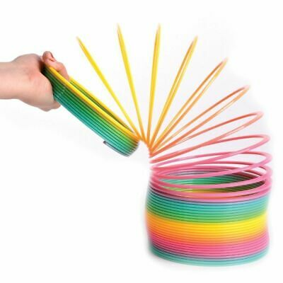 Funny Colorful Rainbow Magic Slinky Children Kids Party Classic Toy Garget